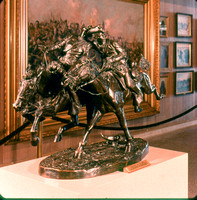 11 Fredric Remington -- The Wounded Bunkie