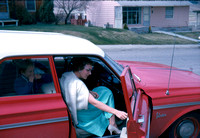 16 Doug & Betty in 1963 Plymouth